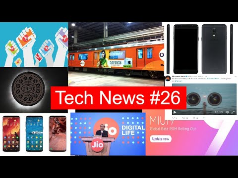 Tech News #26 LG V30 features,Onplus 5T Roumor , Jio 6M New Users, Note 8, Leeco, OPPO F3, IPhone 8