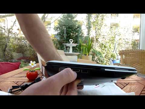 Asus Eee PC 1215B Unboxing