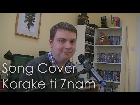 "Attempting To Sing In A Foreign Language (Bosnian) ""Korake Ti Znam"" Song Cover By Anthony Howie"