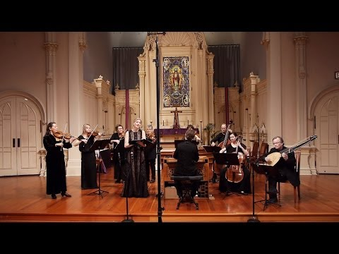 Lascia ch'io pianga (Händel's opera Rinaldo); Voices of Music with Kirsten Blaise, soprano
