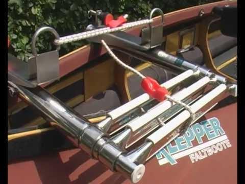 Einstiegshilfe, Badeleiter für Klepper Faltboote