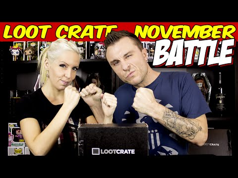 Loot Crate Unboxing Video Review – November 2014 Edition: BATTLE!