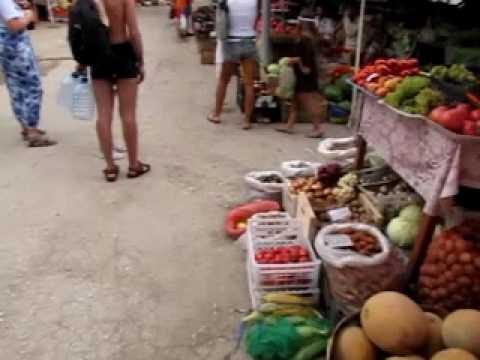 Название Видео - Рынок в Орджоникидзе 2010