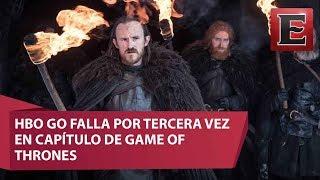 Octavio Castilo, experto en tecnología, habló sobre las fallas que ha presentado HBO GO por tres ocasiones a la hora que se...