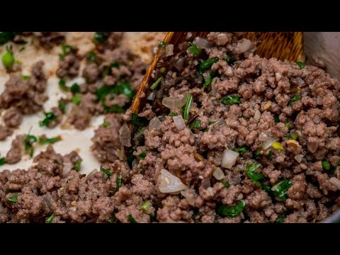 How to make Samosa Minced meat