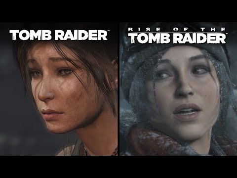 Tomb Raider Vs Rise Of The Tomb Raider | Direct Comparison