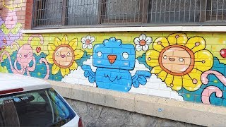 Kawaii Flowers - Kawaii Graffiti by Garbi KW
