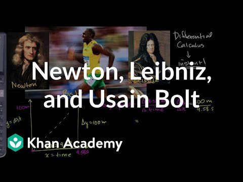 Newton, Leibniz und Usain Bolt