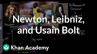Newton Leibniz and Usain Bolt