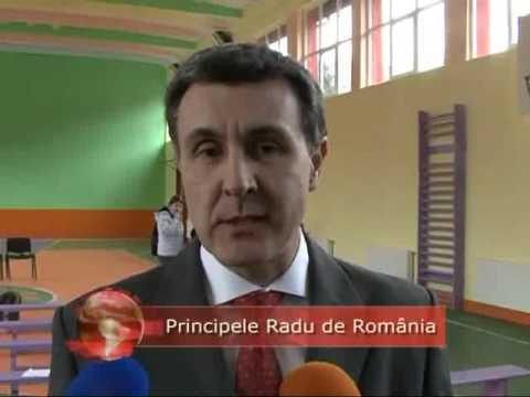 Principele Radu s-a intalnit cu liceenii