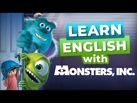 Learn English With Disney Movies | Monsters Inc. [Intermediate Level]