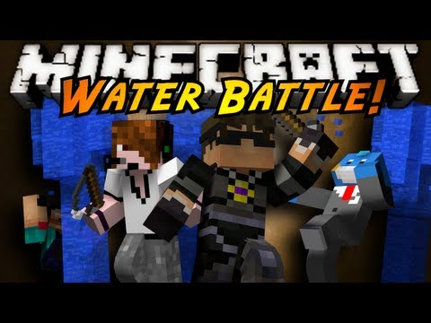 Minecraft Mini-Game : WATER BATTLE!