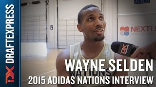 Wayne Selden 2015 Adidas Nations Interview