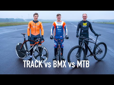SPRINT RACE // BMX vs MTB vs TRACK