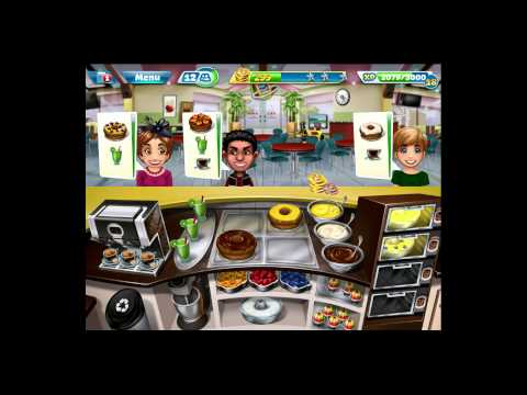 Cooking Fever [iPad Gameplay] Bakery Level 23