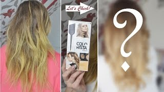 LIVE-Test | DIY OMBRÈ LOOK | L'Oréal COLORISTA | Danana - YouTube