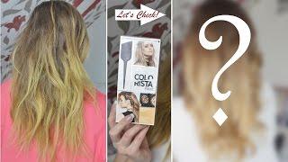 LIVE-Test | DIY OMBRÈ LOOK | L'Oréal COLORISTA | Danana - YouTube