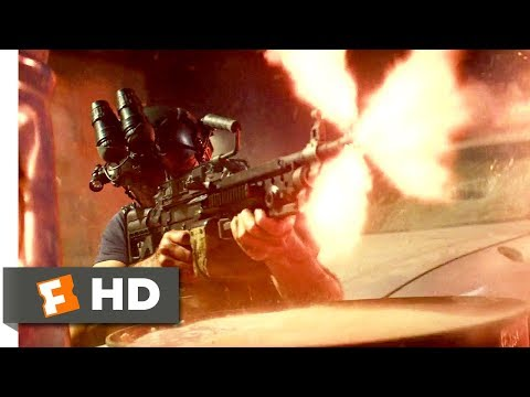 13 Hours: The Secret Soldiers of Benghazi (2016) - Take Out the Technical Scene (3/10) | Movieclips