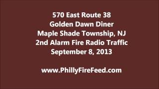 Maple Shade (NJ) United States  city photos : Maple Shade 2nd Alarm Radio Traffic, 9-8-13