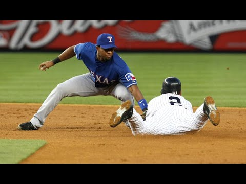 Video: Texas Rangers shortstop Elvis Andrus calls New York Yankees Derek Jeter an idol