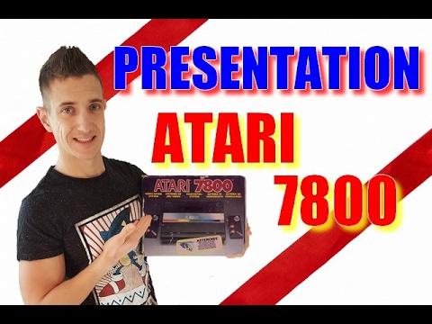 PRESENTATION ATARI 7800