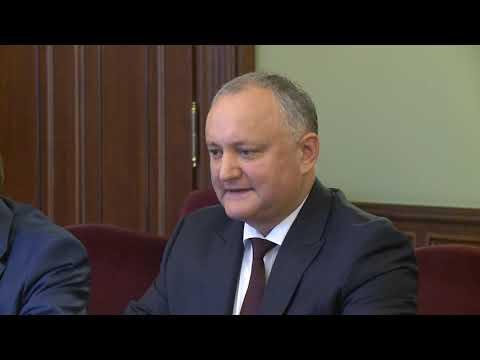 Igor Dodon a avut o întrevedere cu Dmitri Kozak