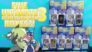 OPENING 5 ULTIMATE COLLECTION 3 BOXES!! Tons of Pokemon Cards! by The Pokémon Evolutionaries