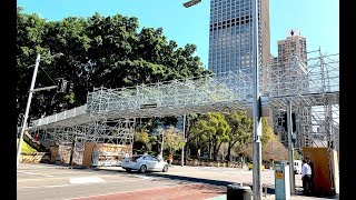 Proscaf Scaffolding Bridge at Sydney Running Festival 2019