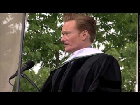 conan obrien commencement speech analysis Politics with charles p pierce politics with charles p pierce jun 8,  a part of hearst digital media esquire participates in various affiliate marketing.
