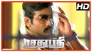 Nonton Sethupathi Tamil Movie   Climax Scene   Vijay Sethupathi Finishes Vela Ramamoorthy   End Credit Film Subtitle Indonesia Streaming Movie Download