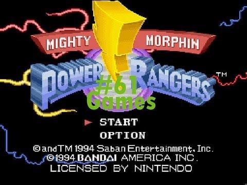 mighty morphin power rangers super nintendo cheats