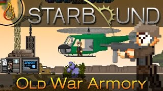 In this video, we take a look at the Old War Armory Mod for Starbound. This mod has tanks, guns and a Bell UH-1 Iroquois (aka Huey) helicopter. Authors: ...