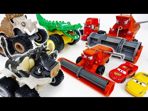 Animal Cars Are Raving~! Frank, Teach Them A Lesson  - ToyMart TV