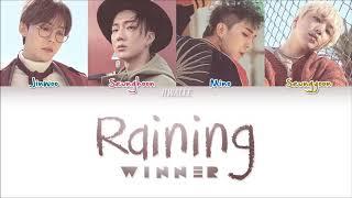 Winner RAINING Lyrics (English Lyrics)
