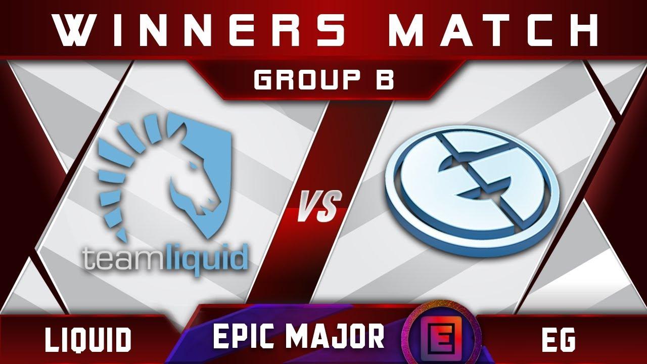 Liquid vs EG [GREAT] Winners B EPICENTER Major 2019 Highlights Dota 2 - YouTube