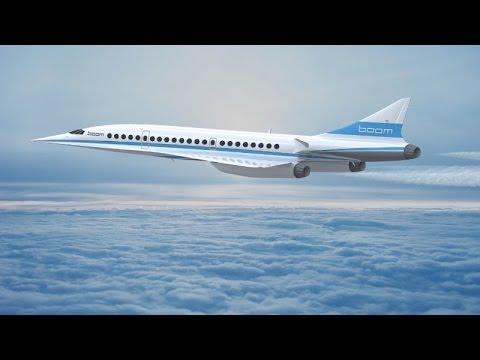Компания Boom Technology представила прототип сверхзвукового пассажирского самолета