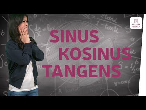 Die Winkelfunktionen Sinus, Kosinus und Tangens