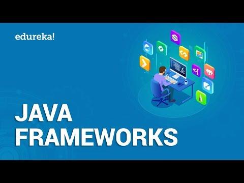 Top 10 Java Frameworks | Spring, Hibernate, Struts, GWT,JSF | Java Certification Training | Edureka