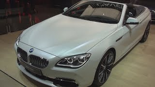 BMW 650i 450 hp Cabriolet Exclusive (2017) Exterior and Interior in 3D