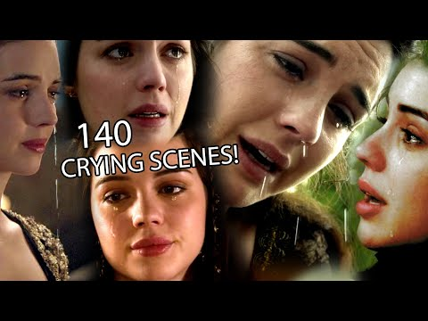 Adelaide Kane Crying Supercut - Reign (2013-17)