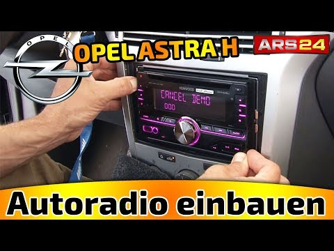 comment demonter autoradio astra g