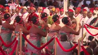 Coronation of the Oba of Benin.