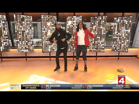 """Les Twins - WOD Winners LIVE To """"WHAT HAPPENED"""" (Kid The Wiz Remix) - Today Show"""