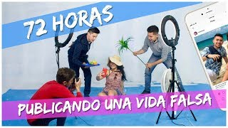 Video 72 HORAS PUBLICANDO UNA VIDA FALSA EN INSTAGRAM (BROMA) // Familia L MP3, 3GP, MP4, WEBM, AVI, FLV Agustus 2018