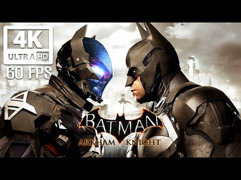 BATMAN: ARKHAM KNIGHT All Cutscenes (PC MAX SETTINGS) Game Movie 4K 60FPS Ultra HD