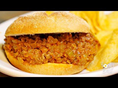 Homemade Sloppy Joe Sandwich