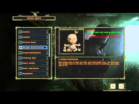 Wasteland 2 Director's Cut - Quirk Guide