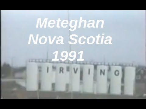 Meteghan, Nova Scotia in 1991