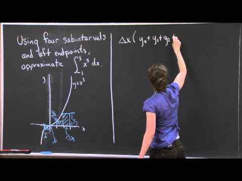 Riemann Sum   MIT 18.01SC Single Variable Calculus, Fall 2010