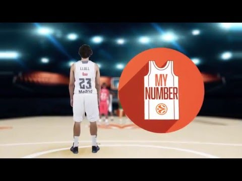 My Number: Sergio Llull, Real Madrid
